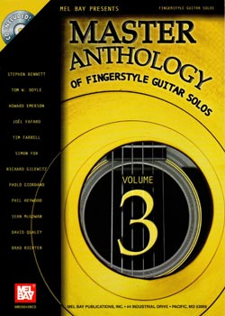 Master Anthology Of Fingerstyle Guitar Solos Volume 3