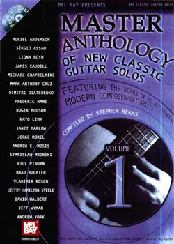 Master Anthology Of New Classic Guitar Solos Volume 1 PDF