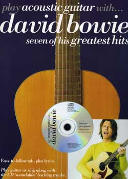 Play Acoustic Guitar With David Bowie