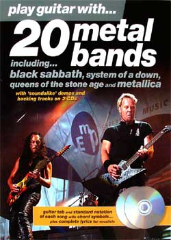 Play Guitar With 20 Metal Bands PDF