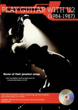Play Guitar With U2 1984 To 1987