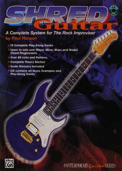 Paul Hanson Shred Guitar PDF