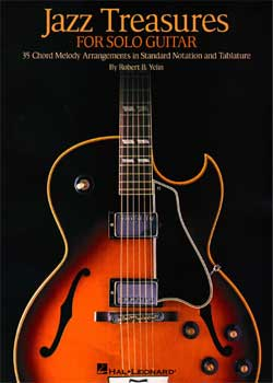 Robert Yelin Jazz Treasures For Solo Guitar PDF