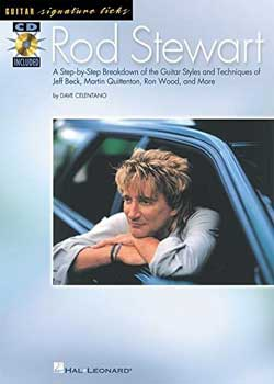 Rod Stewart – Guitar Signature Licks
