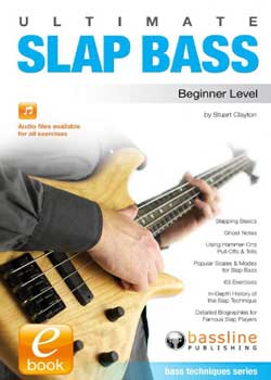 Stuart Clayton Ultimate Slap Bass Beginner Level PDF