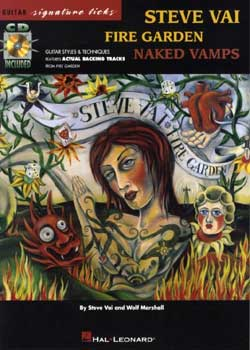 Steve Vai Fire Garden Naked Vamps Guitar Signature Licks PDF
